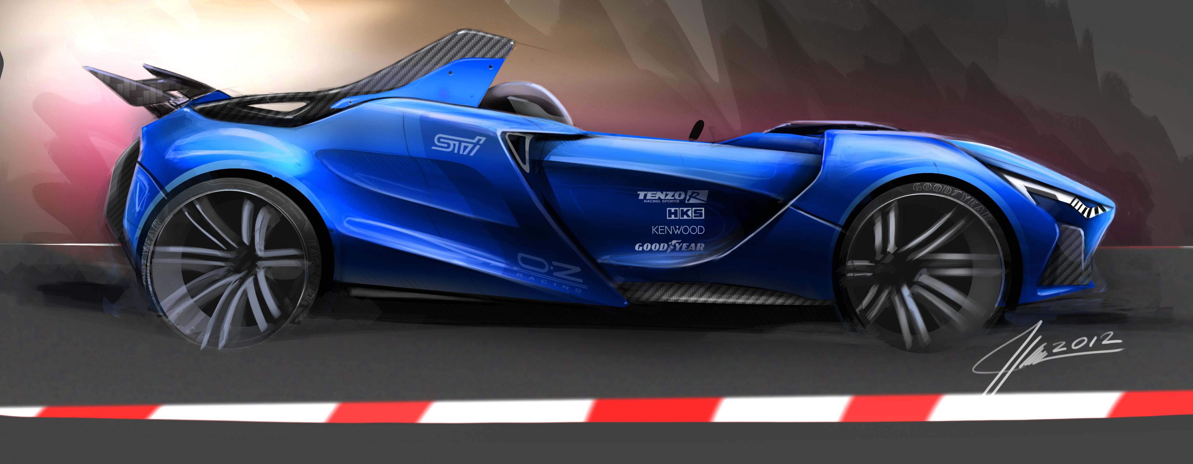 Concept Race Car Side View Facebook Kique Designs