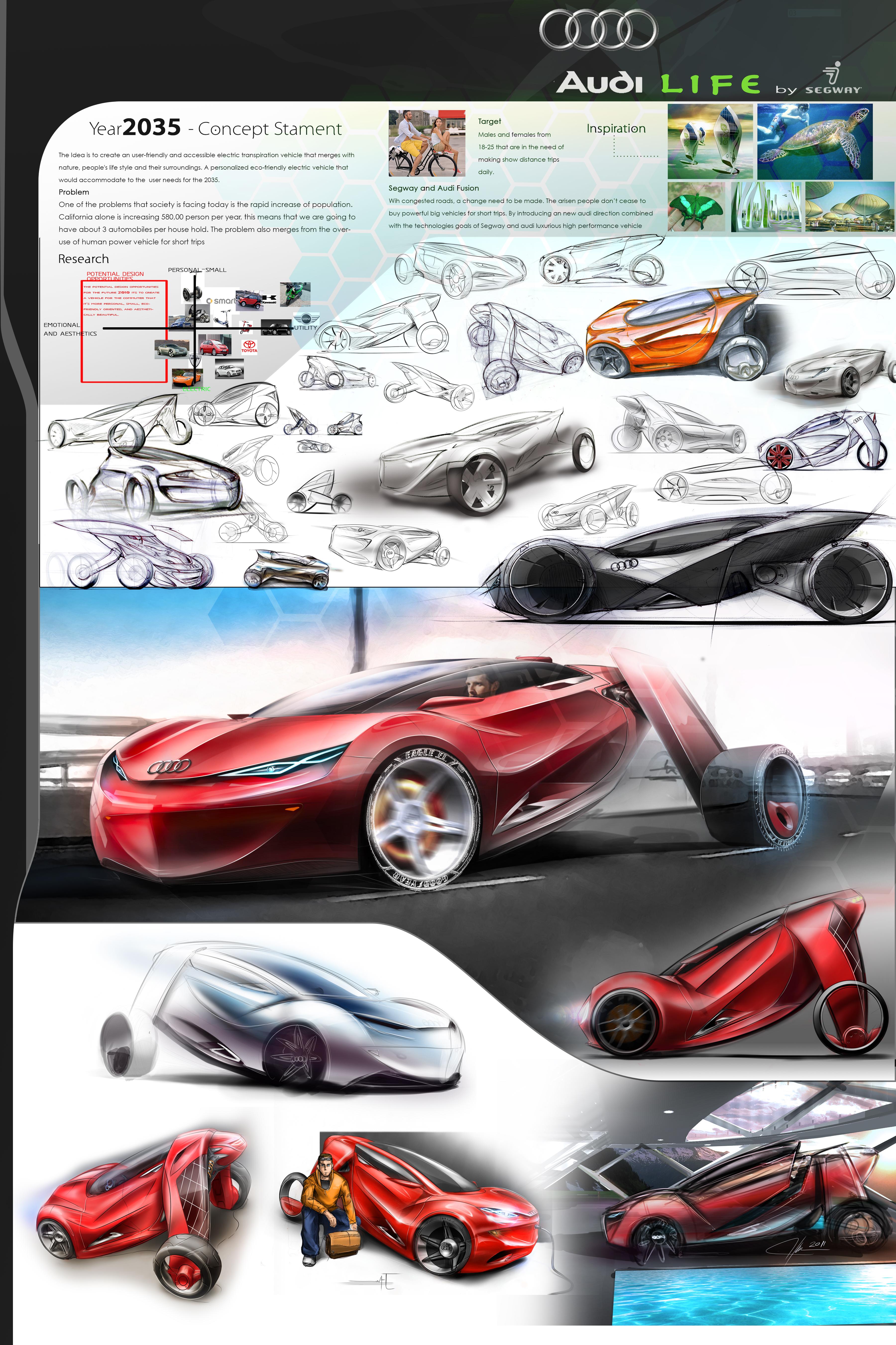 Audi Life By Segway Kique Designs